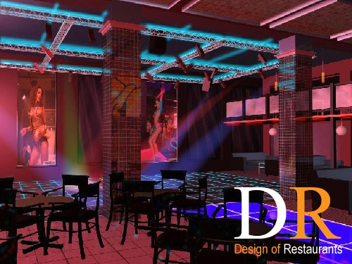 "Design of Restaurants - Диско клуб  ""Вологда """